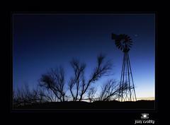 New Mexico Blue by Jim Crotty (jimcrotty.com) Tags: blue sunset sky newmexico west beauty peace venus dusk albuquerque calm western serene jimcrotty