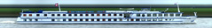 Olympia (Morthole) Tags: boot boat ship schiff barge schip binnenvaart slitscan rheinschiff passagierschiff passengersboat passagiersschip passengersship passagiersboot navirespassagers