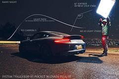 Strobist Info: 911 Carrera S (Matikuki) Tags: chile city santiago 3 lightpainting cars rain night noche lluvia nikon foto iii wheels stock 911 ciudad porsche plus info softbox carreras carrera fotografa pocketwizard plus3 strobist sb900 yongnuo d7000 yn460 yn460ii plusiii