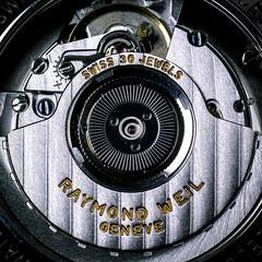 Swiss made movement. (vlgiang) Tags: 30 movement watch automatic wrist jewels eta anythinggoes raymondweil macromondays 2892a2