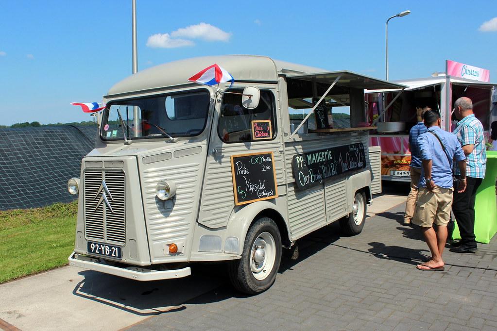 1975 Citroen HY Food Truck Davydutchy Tags Records Netherlands Juni Mercedes