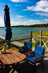 IMG_8932-1 (Andre56154) Tags: sky lake holiday water coffee clouds see wasser sweden urlaub schweden kaffee himmel wolken ufer schren