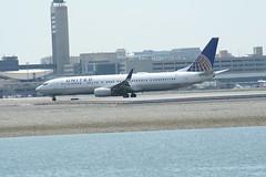 IMG_2536 (wmcgauran) Tags: boston airplane airport aircraft aviation united boeing bos 737 eastboston kbos n78448