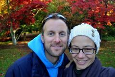cheese! (charlottehbest) Tags: november autumn trees glasses colours smiles arboretum gloucestershire autumncolours westonbirt autumnal westonbirtarboretum 2015 charlottehbest