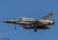 FRANCE AIR FORCE. Mirage 2000 (Air Base 118) (Rodrigo Tran Corts) Tags: france airport spain zaragoza mirage airforce aeropuerto base nato caza otan maniobras garrapinillos ntm2016