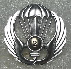 2nd Parachute Battalion (Tarquinia) (Sin_15) Tags: italy italian military badge insignia beret parachute battalion
