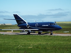 Dassault Falcon 20DC (grobertson4) Tags: aircraft aviation jet falcon cobham lossiemouth dassault