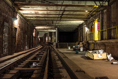 "The subway to railroad connection that never was • <a style=""font-size:0.8em;"" href=""http://www.flickr.com/photos/140233759@N02/27408427856/"" target=""_blank"">View on Flickr</a>"