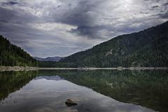 Spar Lake, Montana (WalkingDust) Tags: spar lake montana mirror hdr