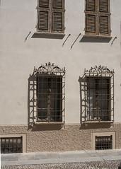 (Wendy:) Tags: windows shadows mantova shutters metalwork grilles mantua lombardy