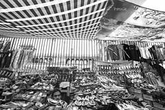 FACE POP UP (pathikdebmallik) Tags: street mosque footwear trousers vendor cloth canopy railings jackets shopkeeper olddelhi seeler
