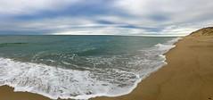 Dawn at Lecount Hollow Beach in Wellfleet, Cape Cod (Chris Seufert) Tags: ocean panorama beach cape cod hollow wellfleet marconi recount
