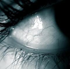 details - part l (_roberta ricciardi) Tags: eye eyes veins lashes occhio occhi ciglia vene details dettagli macro cyan ciano
