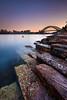 Barangaroo Keys (Rodney Campbell) Tags: city water sunrise au australia newsouthwales sydneyharbour cpl gnd09 barangaroo gnd06