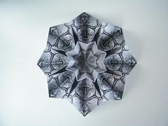 Star Blessilda - Alphonsus Nonog (Rui.Roda) Tags: origami papiroflexia papierfalten estrela estrella toile stella stern star blessilda alphonsus nonog