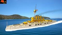 Battleship Anduria (Enon) Tags: lego battleship