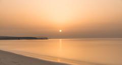 Rising Sun! (aliffc3) Tags: longexposure seascape beach filter risingsun goldenhour qatar mesaieed 10x tamron2470f28 nikond750