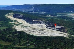 Hamburg Quarry (Kevin Borland) Tags: pochuckmountain quarry deforestation newjersey sussexcounty wallkillvalley