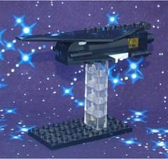 Stiletto Frigate (Mantis.King) Tags: lego space scifi spaceship futuristic wargames moc microscale mechaton mfz mf0 mobileframezero legogaming interceptorbit