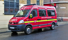 London Fire Brigade Urban Search and Rescue, Renault Van (standhisround) Tags: uk london fire renault vehicle van emergency 999 firerescue londonfirebrigade lfb renaultmaster urbansearchandrescue lomanstreet mpc15 bx58hcd