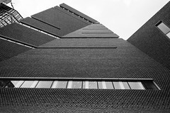 The Switch House, Tate Modern, London (IFM Photographic) Tags: img8767a canon 600d tamron 1024mm sp1024mmf3545 tamronsp1024mmf3545 london londonboroughofsouthwark southwark tate tatemodern banksidepowerstation bankside artgallery gallery art switchhouse herzogdemeuron blackandwhite bw monochrome