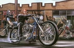 David Mann Art 93 (BikerKarl2013) Tags: david art store badass helmet motorcycles stuff motorcycle biker mann 93