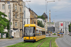DWA Bautzen NGT8DD #2712 DVB Dresden Drezno (3x105Na) Tags: germany deutschland dresden tram sachsen strassenbahn 2712 tramwaj dvb bautzen dwa niemcy drezno ngt8dd saksonia