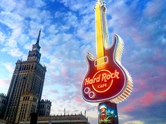 #Polonia #hardrockcafe (MACARENA MONTENEGRO) Tags: polonia hardrockcafe