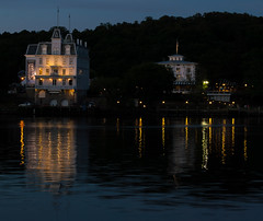 Goodspeed Landing (EHPett) Tags: house reflections evening opera outdoor connecticut connecticutriver goodspeed easthaddam gelstonhouse