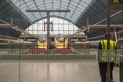Waiting! (Marlytyz) Tags: london cross eurostar trains kings