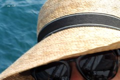 """""""Life ends when you stop dreaming"""" (Trinimusic2008 -blessings) Tags: toronto ontario canada nature water hat sunglasses bench fun shades to tallship lakeontario yesterday selfie hbm trinimusic2008 judymeikle the6ix"""