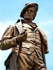 Rabbie Burns (e r j k . a m e r j k a) Tags: sculpture statue oakland pittsburgh pennsylvania burns allegheny erjkprunczyk