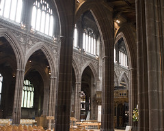 "2016 UK Trip: Manchester 16 (kuminiac) Tags: 2016 england manchester uk ""united kingdom"" cathedral architecture ""manchester cathedral"""