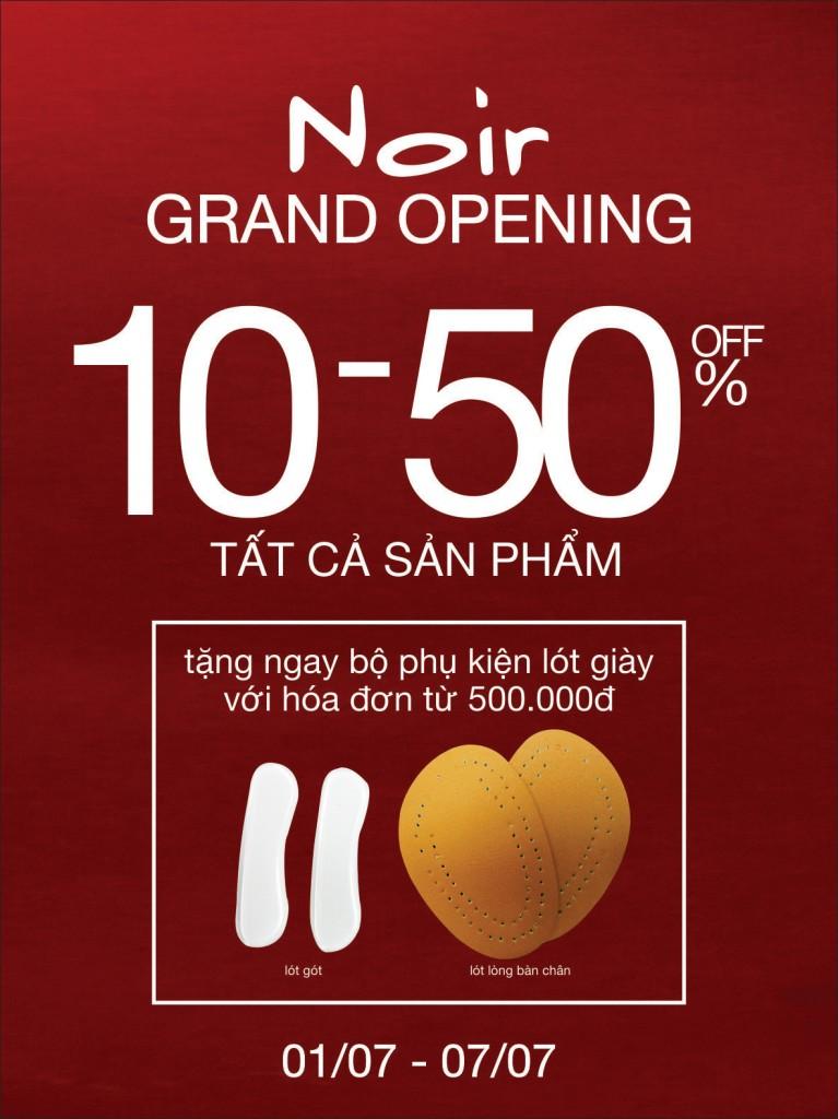 Noir Tưng Bừng Khai Trương tại AEON Mall Bình Tân, TPHCM
