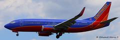 N389SW (Edward Kerns II) Tags: southwest flight winglets 3467 b733 kbwi n389sw