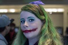Characteristic Glasgow Smile (l plater) Tags: cosplay dccomics sydneyolympicpark glasgowsmile thejoker supanovaexposydney2016