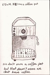 #8 Coffe machine (we don't have a coffee pot) (sarabeee) Tags: