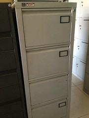 Vertical Filing Cabinet (megaofficesurplus) Tags: partition filingcabinet filecabinet steelcabinet officesurplus japansurplus modularpartition megaofficesurplus verticalcabinet