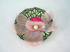 orchid bowl (playsculptlive) Tags: orchids bowl polymerclay pcagoe mai92013