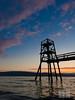 Stupetårnet i Ornesvika (Robin Lund) Tags: ocean sunset tower scenic diving structure fjord narvik nordnorge hav solnedgang nordland stupetårn ofotfjorden scenisk ornesvika