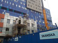 Construction continues at the Royal London hospital in Whitechapel May 2013 (Carol B London) Tags: hospital construction whitechapel e1 ae continues thelondon newbuild towerhamlets royallondonhospital rlh londonhospital may2013 flickrandroidapp:filter=none