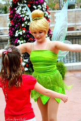 Meeting Tinkerbell (disn3yw0rld) Tags: tinkerbell disney international gateway meet greet