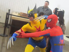 IMG_2385 (THE MASKED RAVEN) Tags: spiderman xmen mutant marvelcomics wolverine uncannyxmen marvelteamup spidermananimatedseries xmenmovies xmencomicbooks xmenanimatedseries xmencartoons 11thannualdallascomicconmay1719th2013 wolverinecomicbooks spidermancomicbooks wolverinemovies