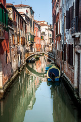 Venice Italy (David Claringbold) Tags: ocean bridge venice sea white holiday reflection slr wet water canon river landscape island boat rocks raw gondola lightroom 500d