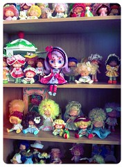 Strawberry shortcake and blythe,my two passions