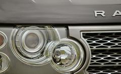 Range Rover Circles (Petleg9) Tags: glass lights grill rangerover cirlces hadleighshow
