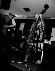Koffin Kats @ The Adam & Eve (Midge Diabolik) Tags: birmingham punk rockabilly punks brum psychobilly digbeth thrashabilly