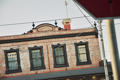 DSC_0017 [ps] - Whipp's Terrace (Anyhoo) Tags: old original urban brick sign dedication architecture facade plaque peeling paint decay victorian australia melbourne victoria richmond worn vic pediment faade cornice bridgeroad anyhoo photobyanyhoo whippsterrace