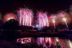 Maigc Kingdom - A Week of Fireworks Begins (Jeff Krause Photography) Tags: park sky castle night america concert day crystal fav50 fireworks magic 4th july kingdom palace disney special celebration theme tribute cinderella wdw independence fourth fav25