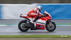 Ducati Test Team - 51 - Michele Pirro - I - Entrenamientos MotoGP Jerez 2013 (DGrimaldi) Tags: test españa david canon team andalucia moto deporte 51 motogp ducati cádiz franco jerez circuito grimaldi 70300 barrido 550d paneo michelepirro dgrimaldi